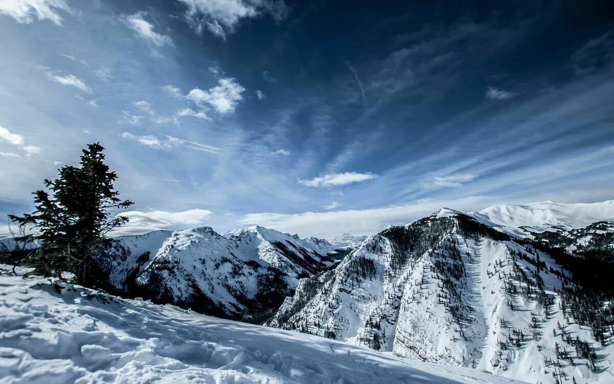 забудьте украсить картинка горы в снегу очередной