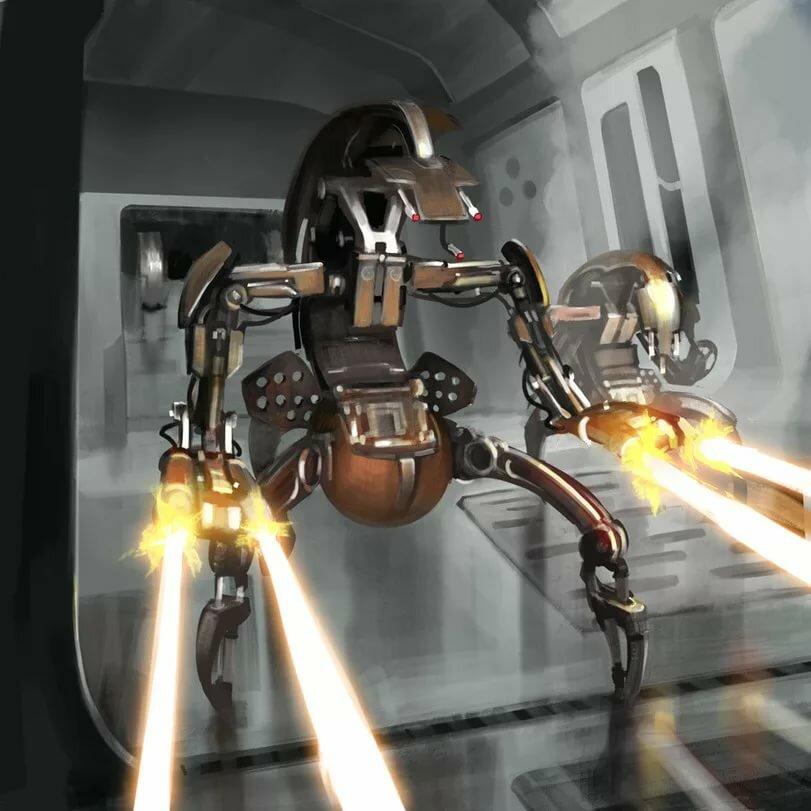 картинки армии дроидов увидите такой одном