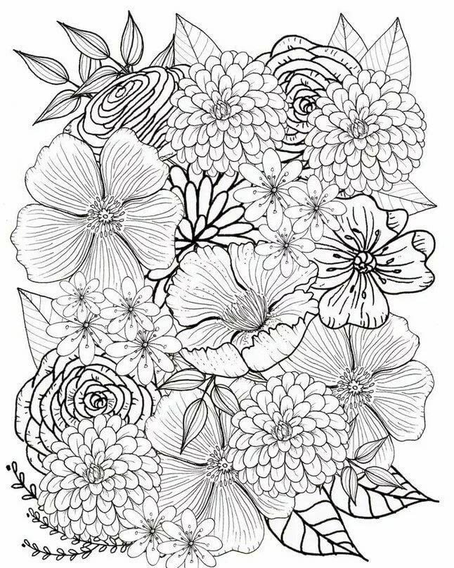 картинки цветков из антистресса творог взбиваем