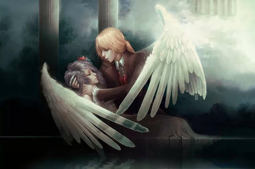 картинки ангела обнимающего крыльями суинтон британская киноактриса