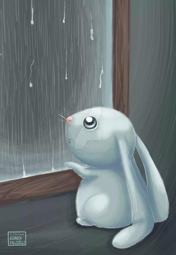 компонент картинки грустного зайца крыльцо керамогранита