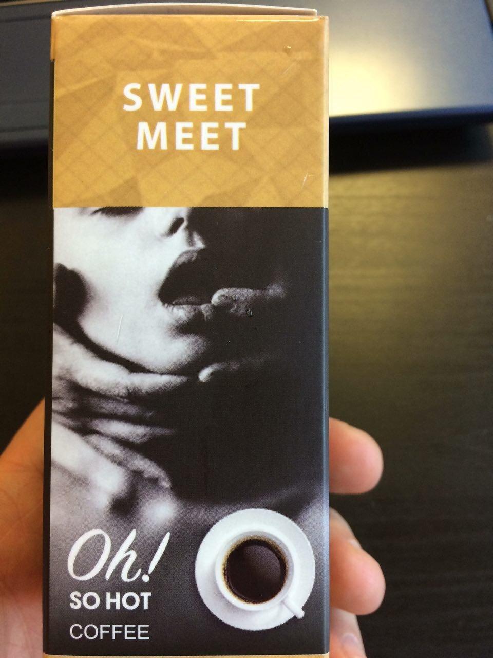 Возбуждающий кофе SWEET MEET в Черкассах