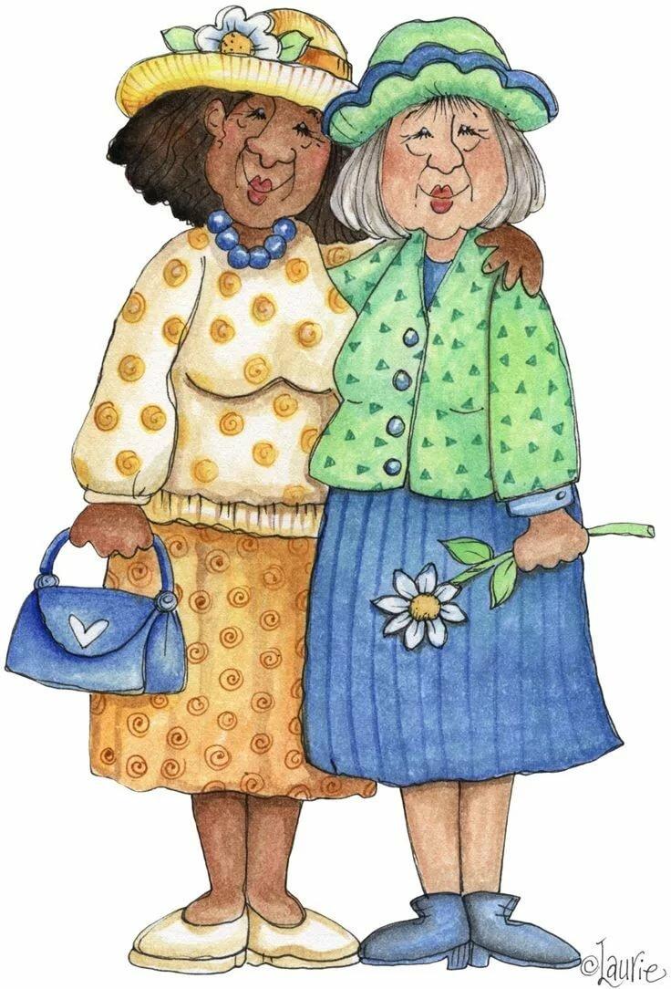 Веселые бабушки в картинках