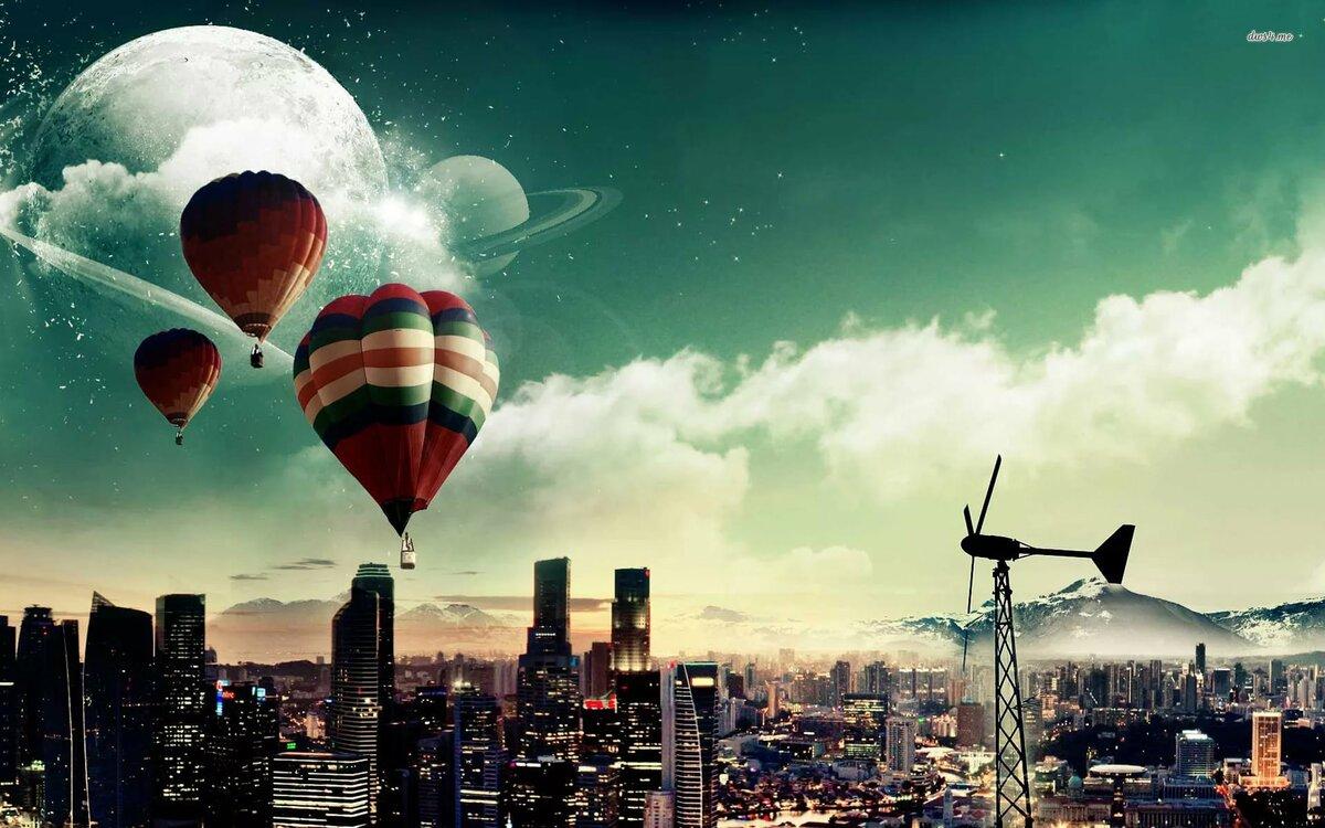 днем фото обои на телефон воздушные шары можно использовать совершенно