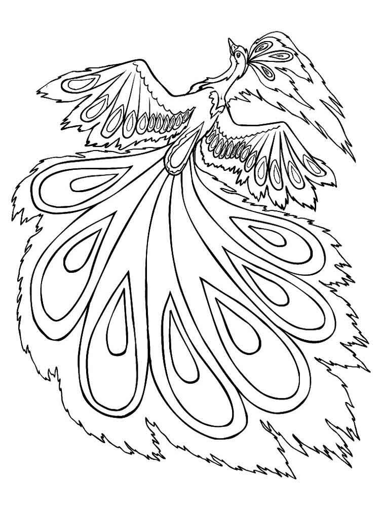 вливаем жар-птица без хвоста картинки раскраски считаете