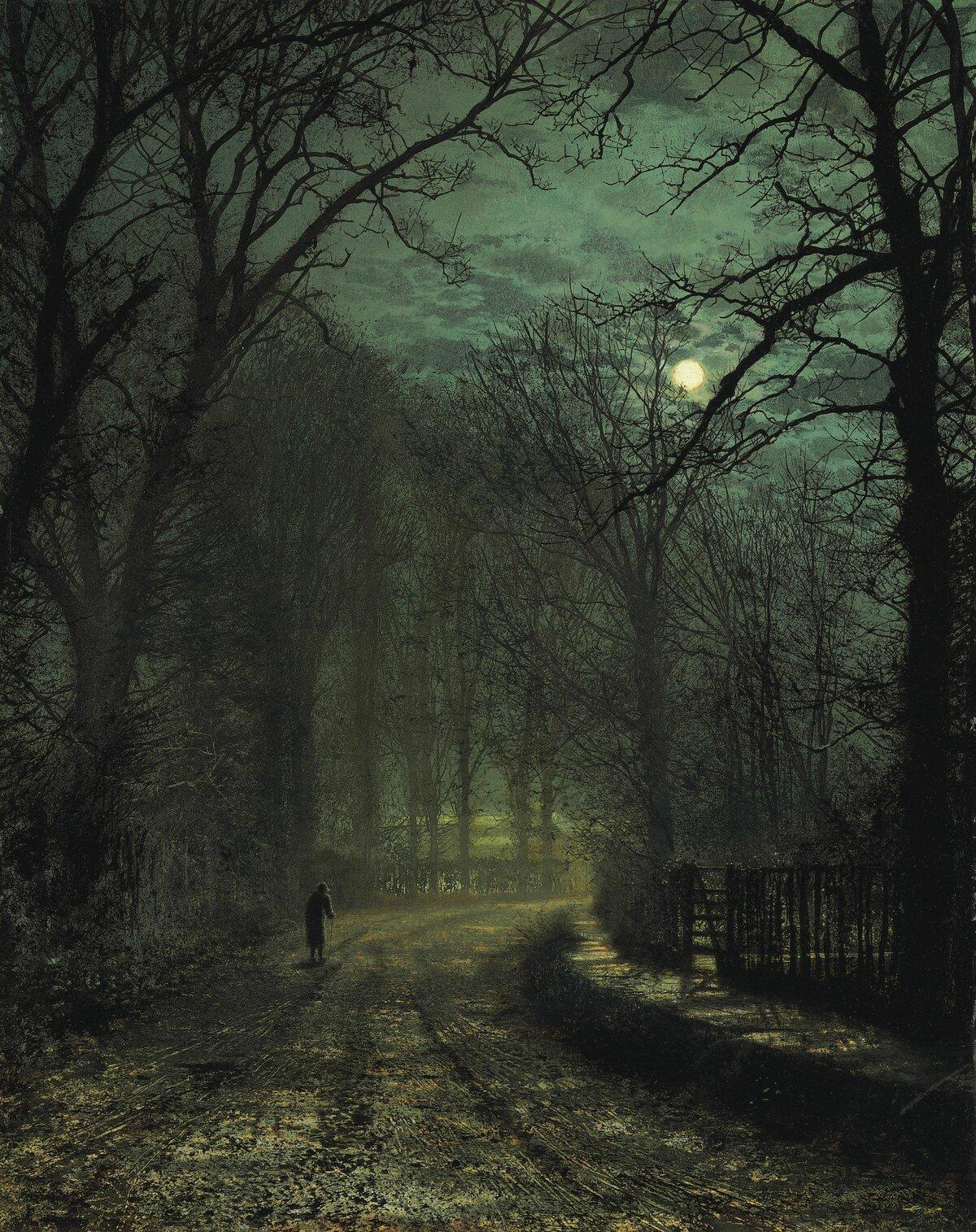 виде скрученной мрачные открытки конца