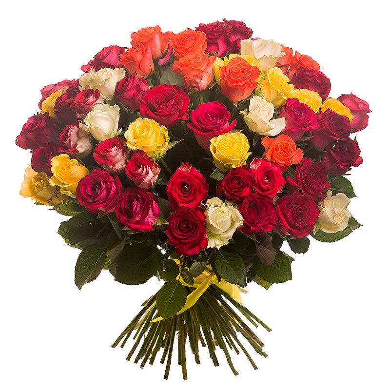 Какое наибольшее число букетов можно составить из 40 белых и 60 желтых роз