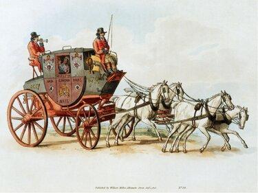 кареты 15 века