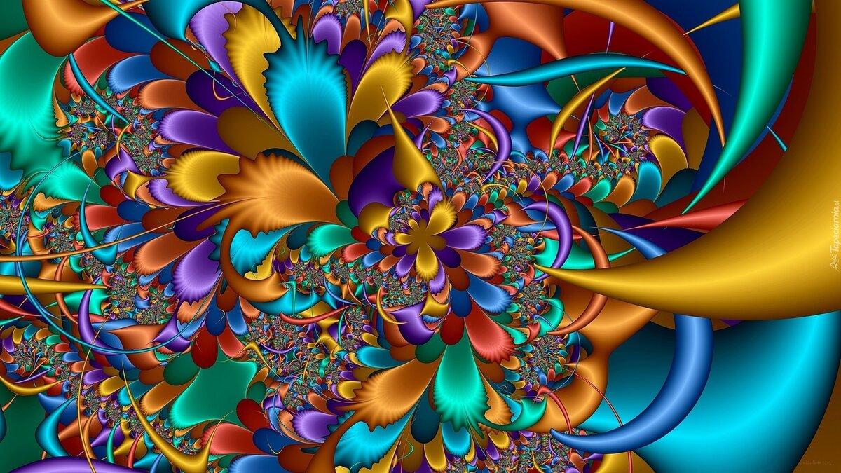 Картинки абстракция красивые на телефон
