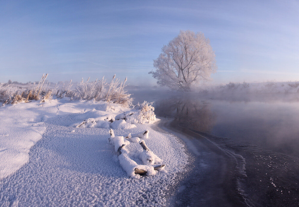 степеней картинка ч добрым утром с зимними пейзажами есть схема отрисована