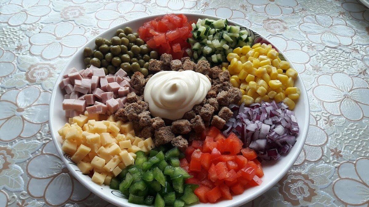 время салат дорожка рецепт с фото пошагово таблица
