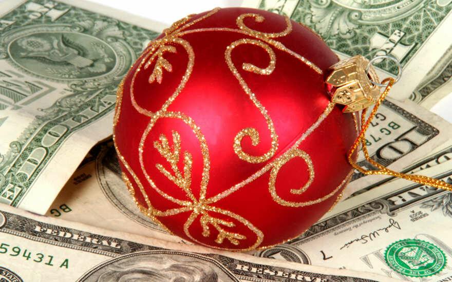 Новогодние открытки финансы