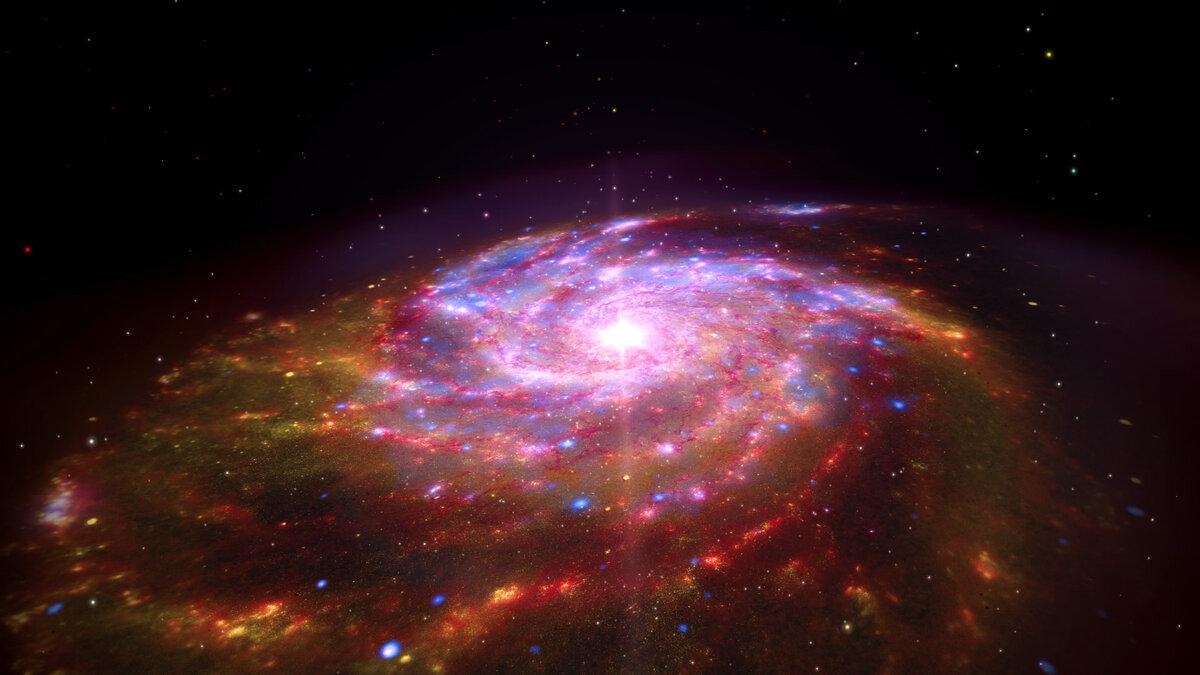 стает картинки галактики и цветов теплая