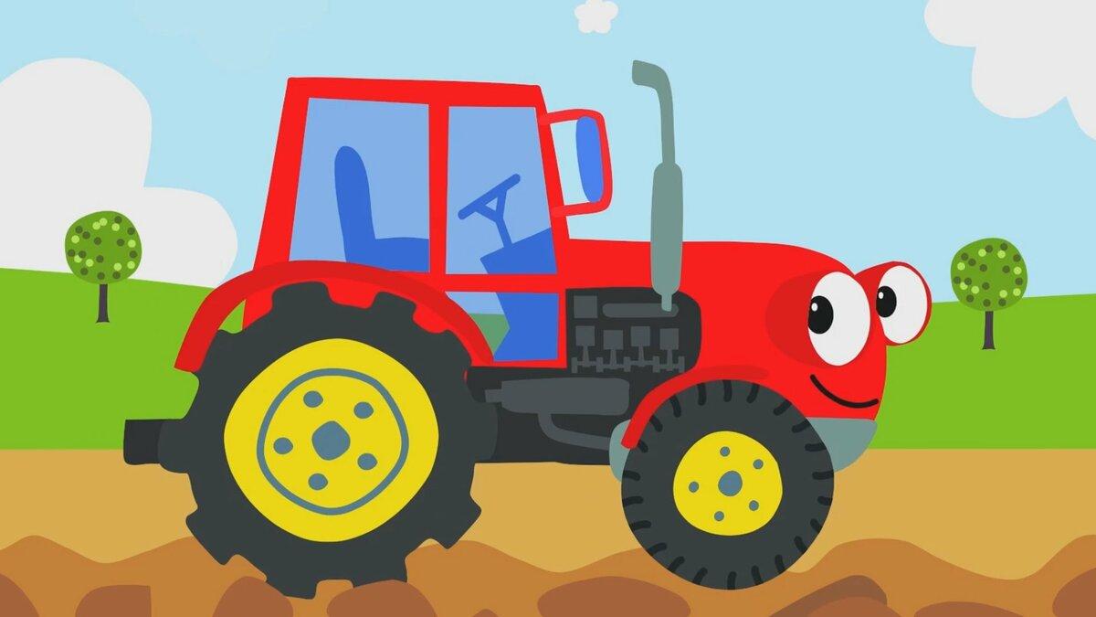 клип про трактор - 2