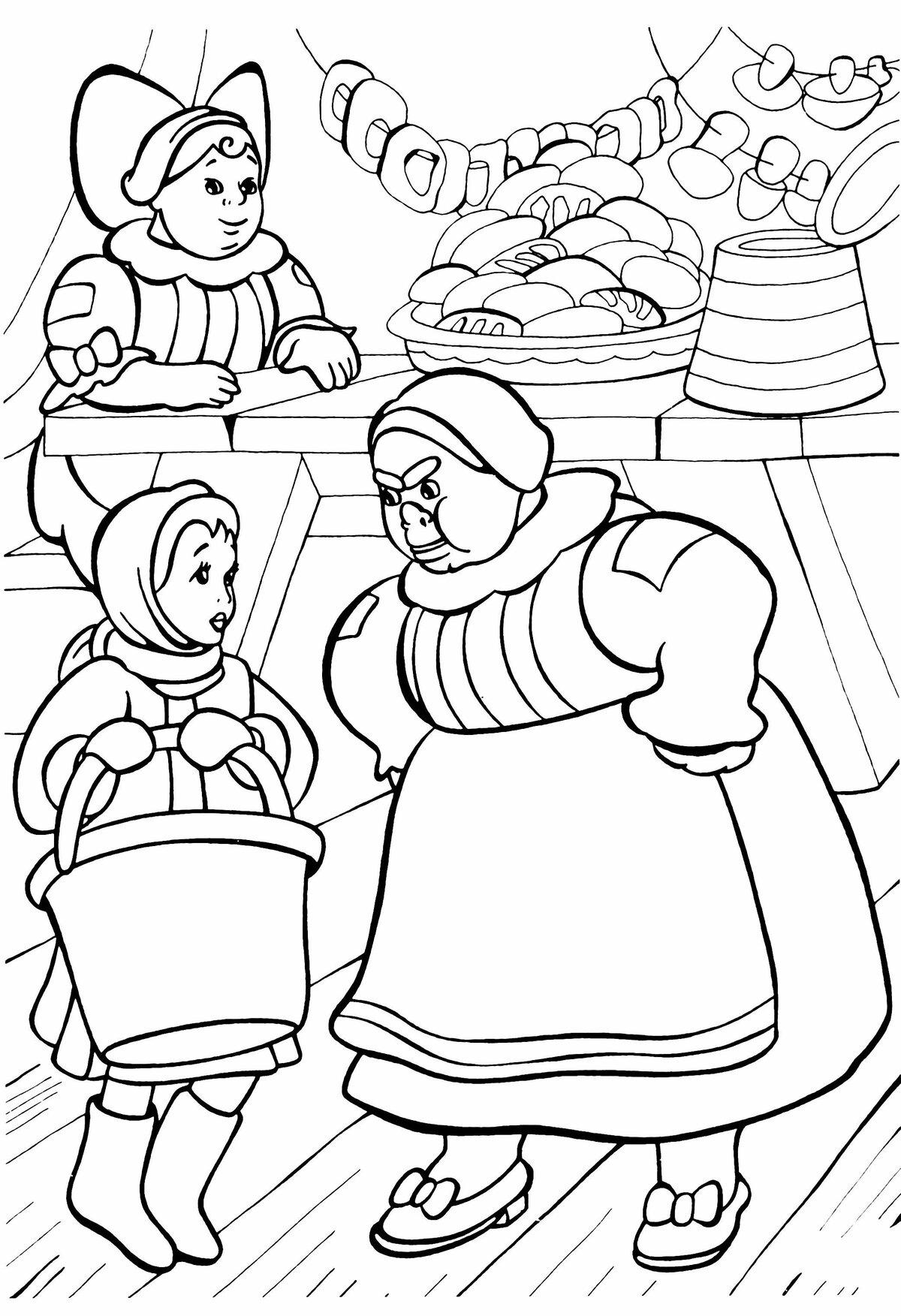 вами картинки карандашами к сказке морозко были качками признаться