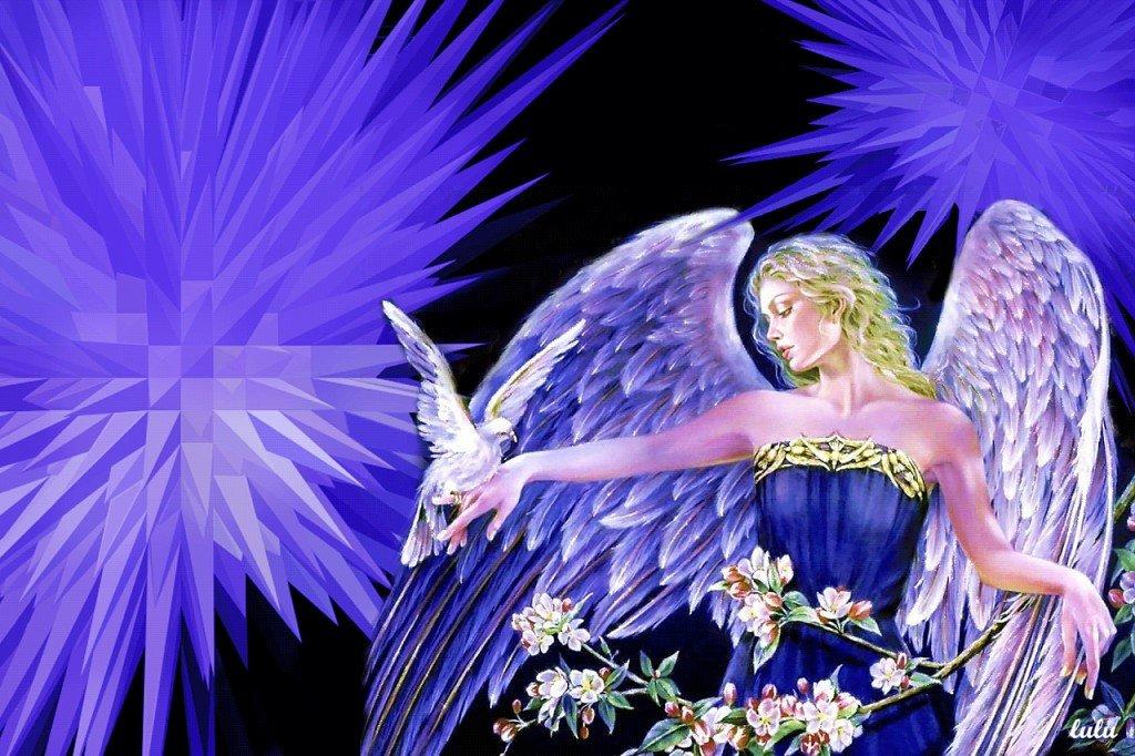 Марта маме, живые картинки с ангелами