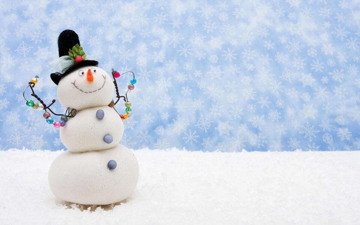 Картинка прикольный снеговик