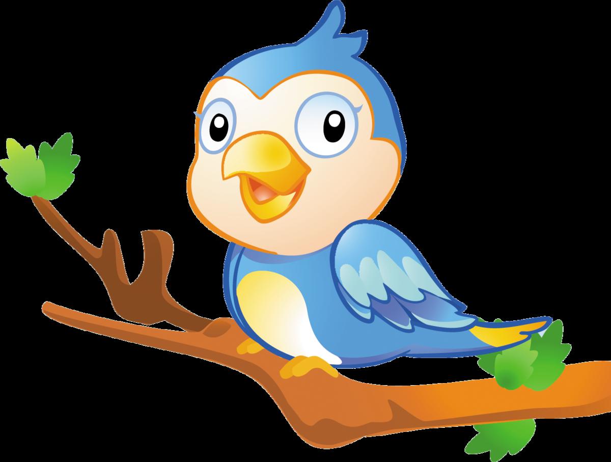 Для открытки, картинки для детей птичка на ветке