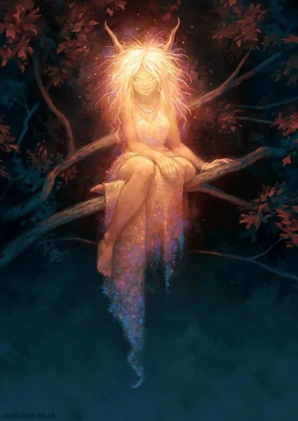 Картинка дух девушки