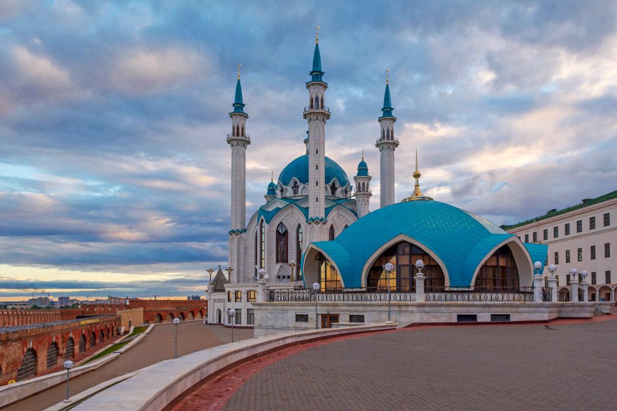 Картинка мечети в казани