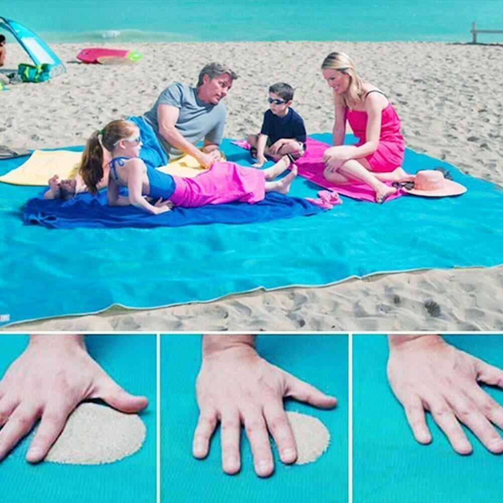 Пляжная подстилка ClapSand анти-песок в Дальнереченске