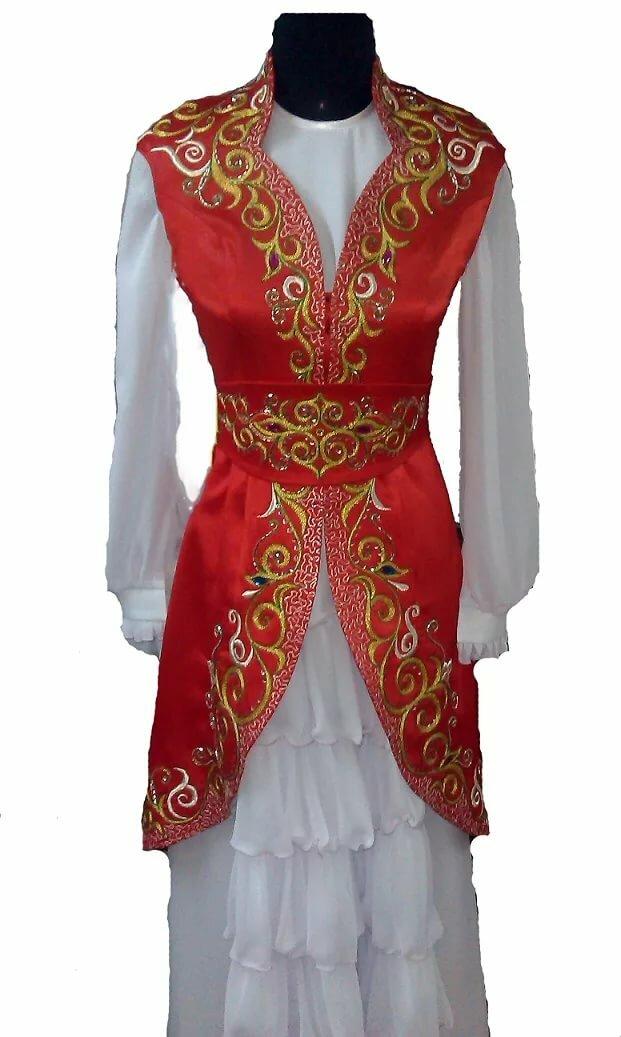пришла картинки казахских национальных платьев для любителей