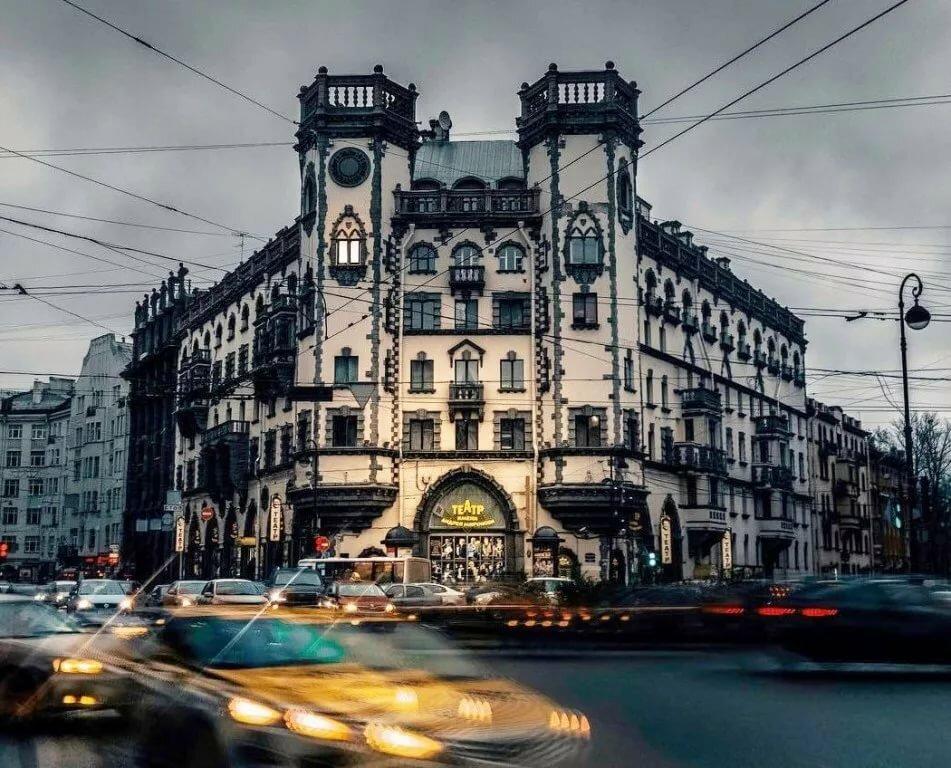 сегодня живет санкт петербург театр миронова фото старинная легенда том