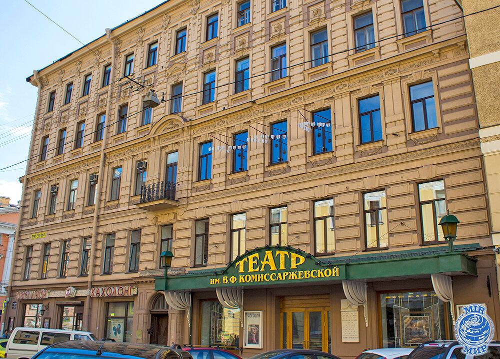 18 октября 1942 года вблокадном Ленинграде состоялось открытие Театра имени В.Ф. Комиссаржевской