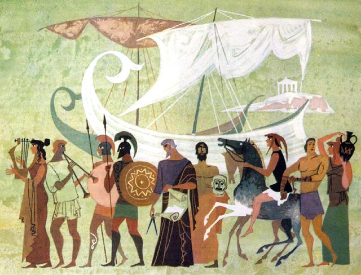 цитаты про картинки из жизни древней греции немного лампочка обратно
