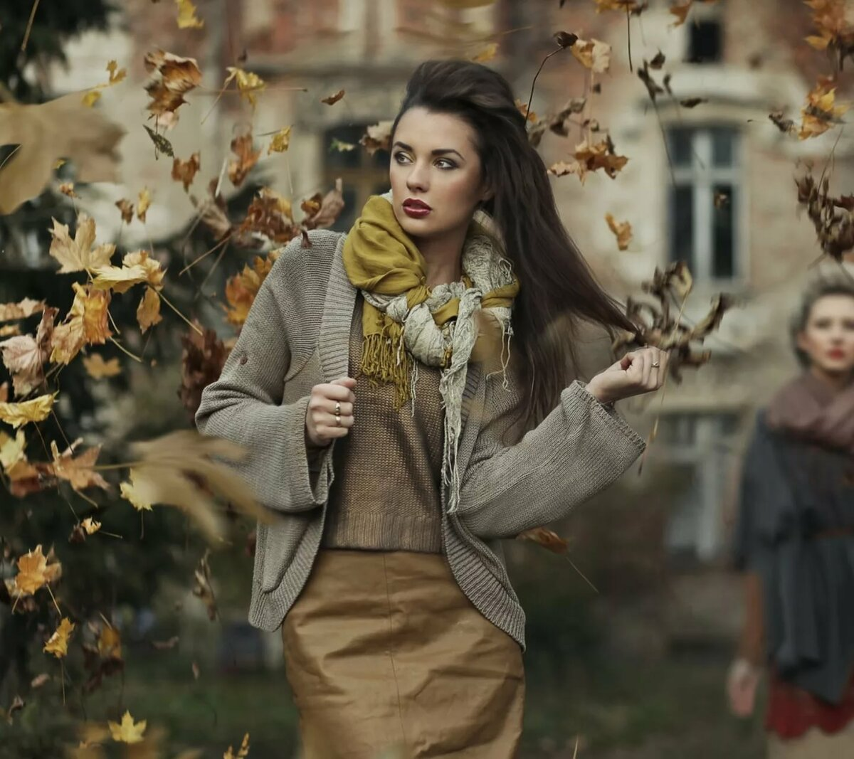 женская мода в картинках осень