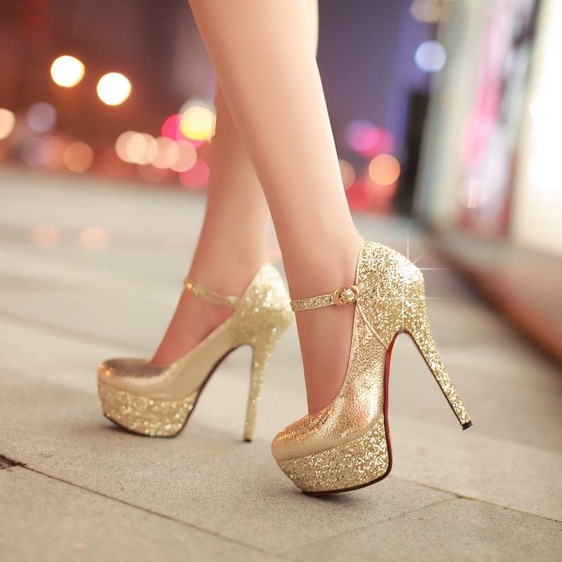 вечерние туфли на высоком каблуке фото поход