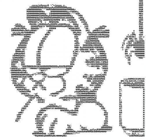 Картинки, рисунок символами для вконтакте