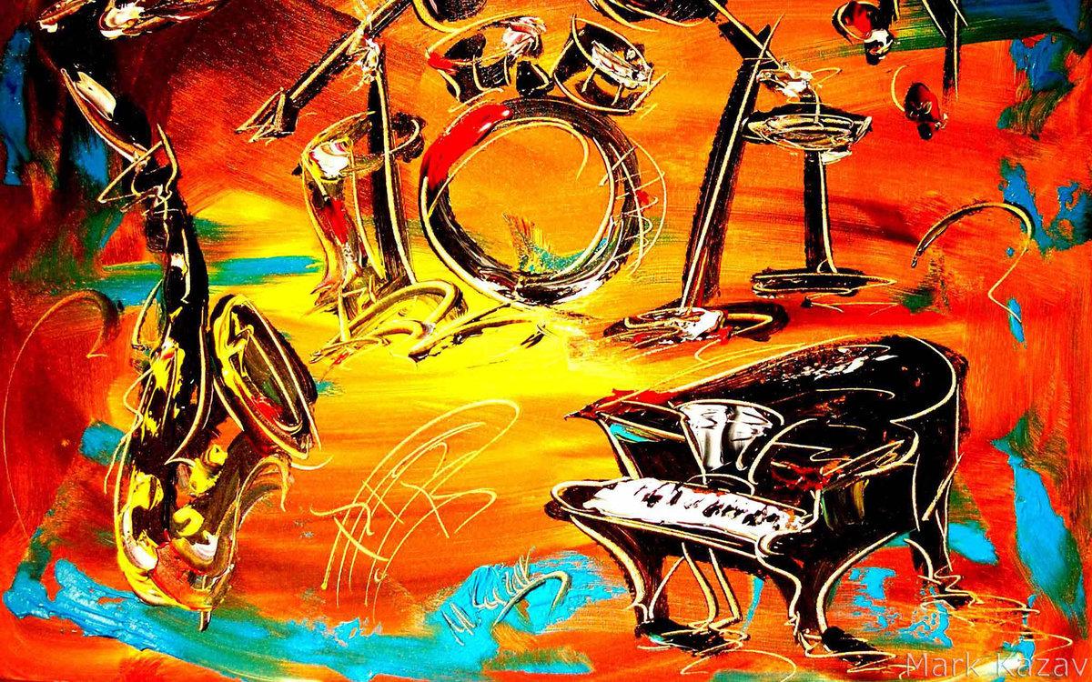 вот картинки в стиле джаз и блюз универсальный передаточный