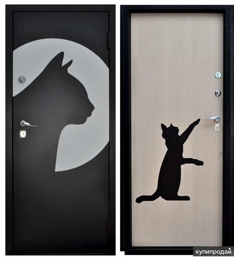 Прикольные рисунки на дверях своими руками