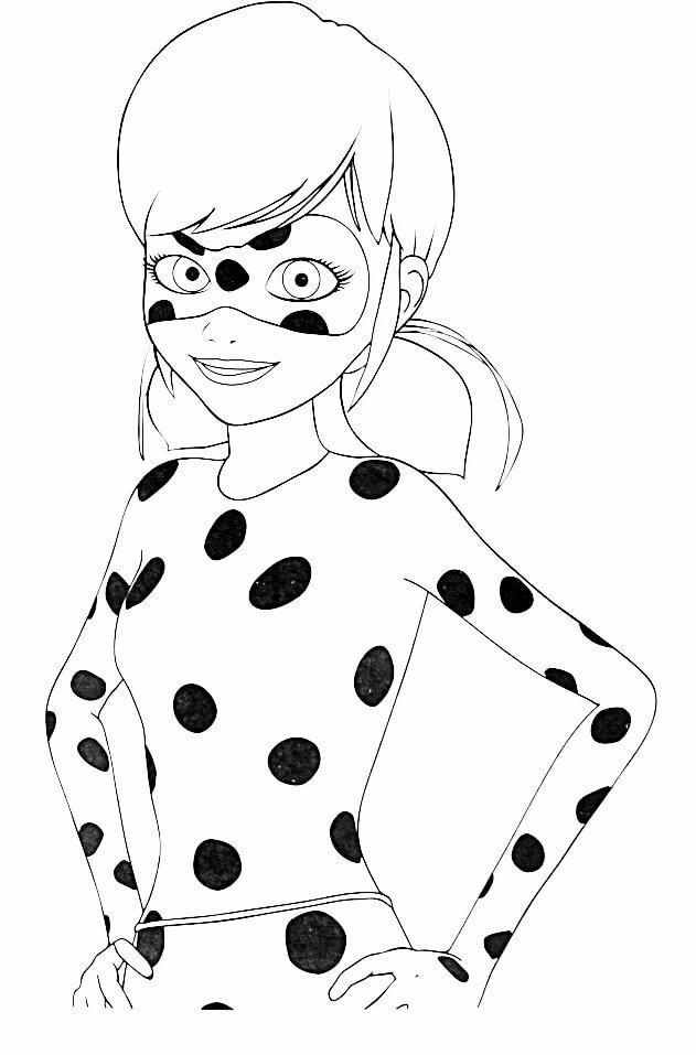 Тигренком, картинки для срисовки красивые легкие и прикольные для девочек леди баг