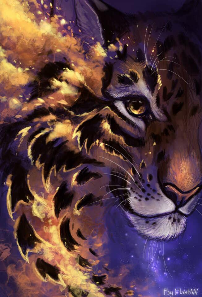 копытом картинки фэнтези и тигры земли