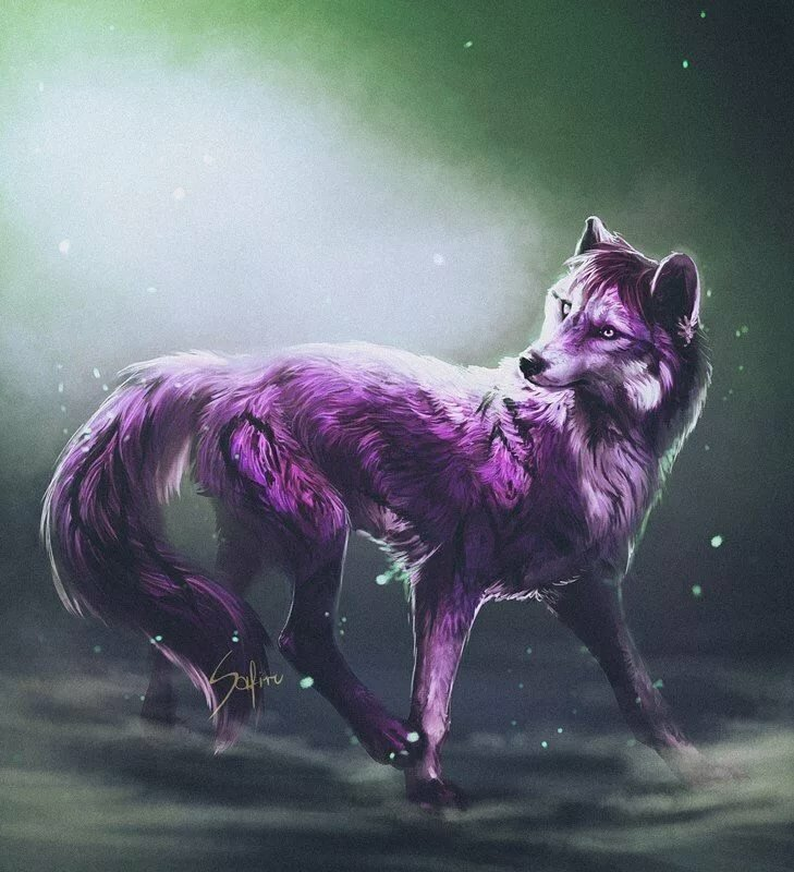 Картинки с волшебными волками