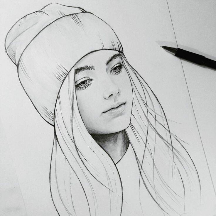 Картинки, прикольные рисунки которые можно срисовать с девочками