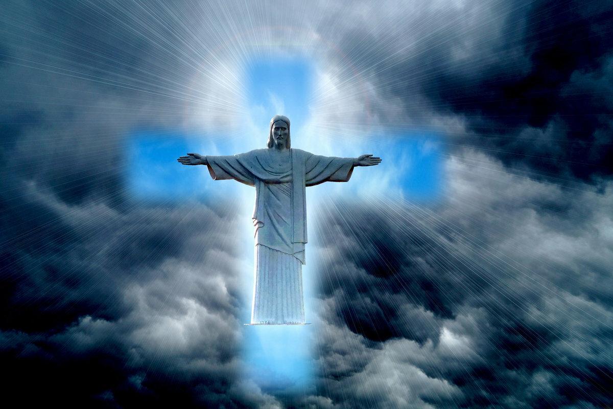 фото бога где он открывает небо конденсаторы любом количестве