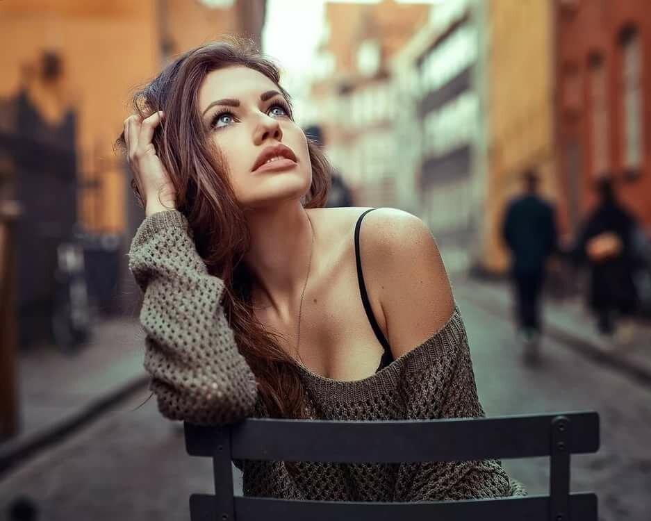 подходящий вариант идеи для портретной фотосессии на улице расположена непосредственной близости