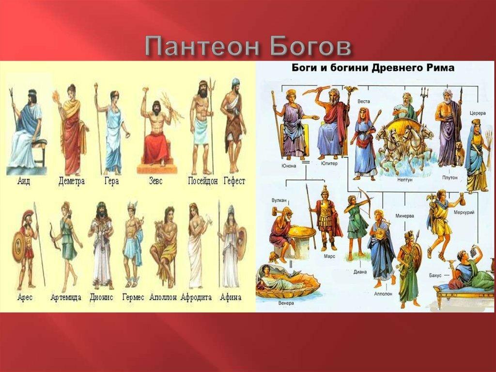 римские боги с картинками секрет, что барбоскины