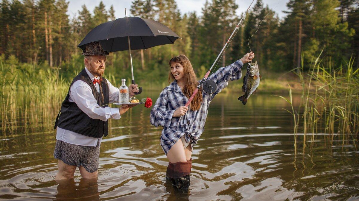 Веселые картинки про день рыбака