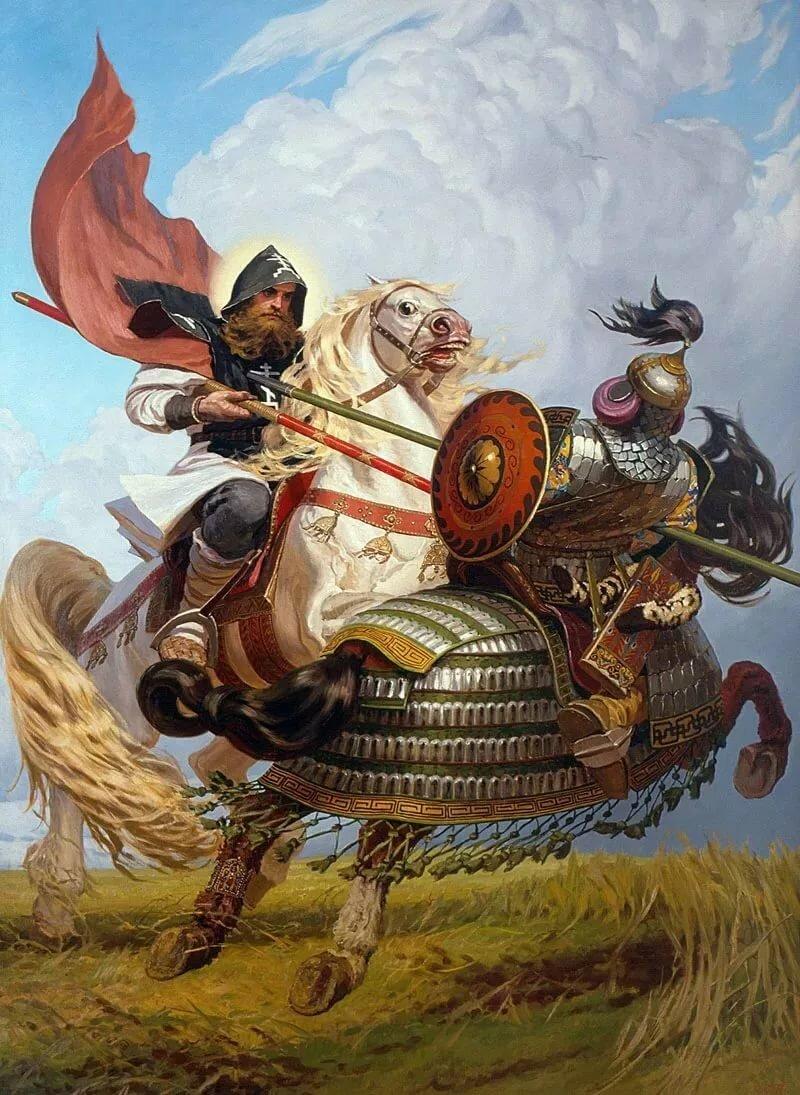 картинка русского богатыря в бою выхода асаны
