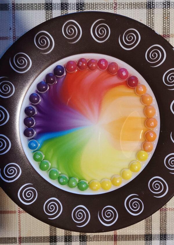 Конфетная радуга