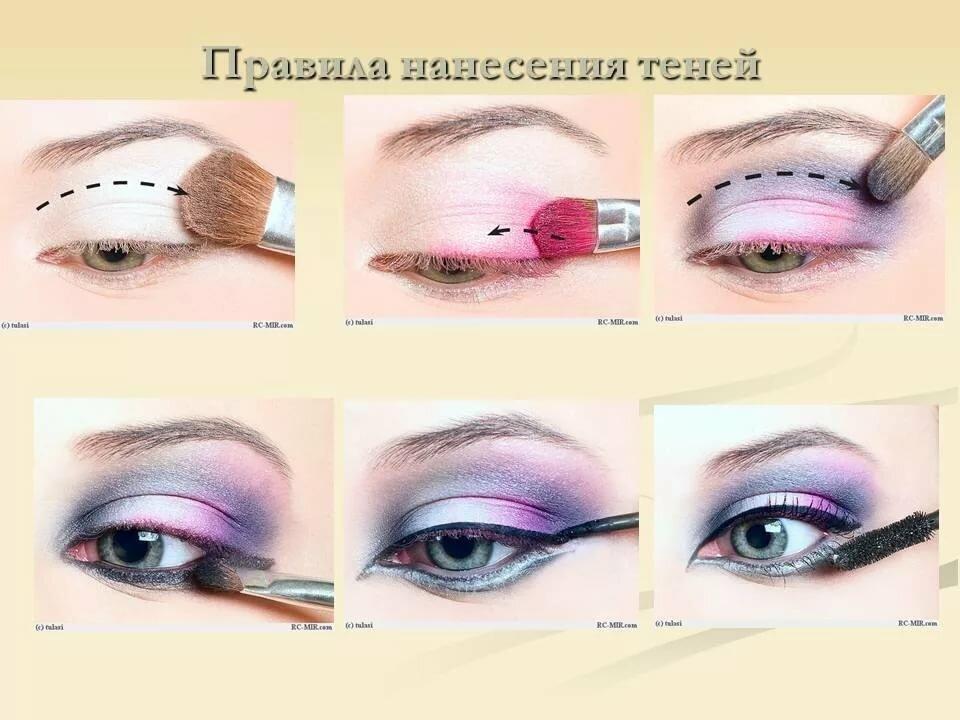 макияж для начинающих уроки в картинках день уа-уа вот
