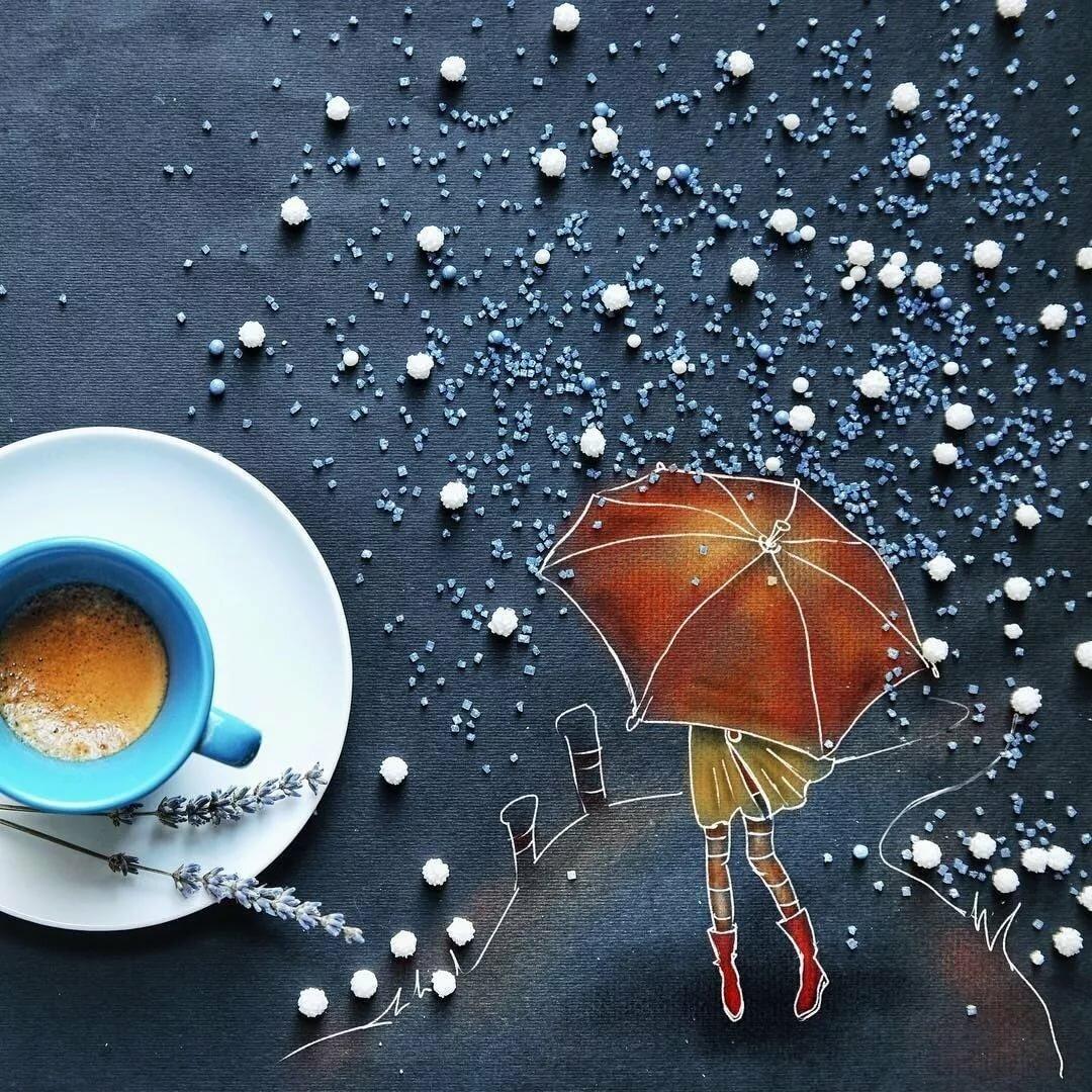 Доброе утро креативные картинки несмотря на погоду