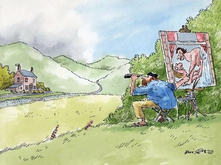 Открытки про деревню прикольные