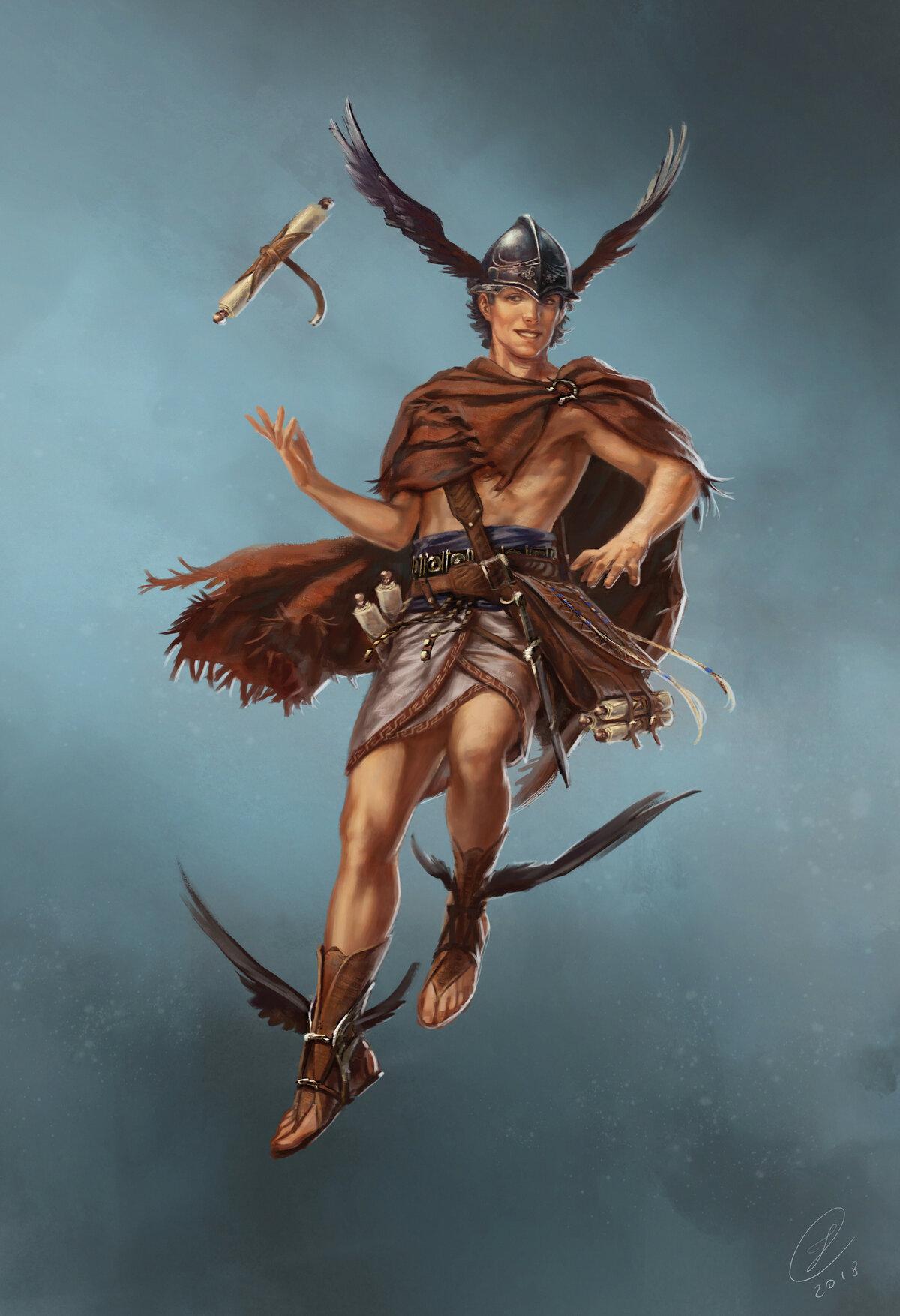 древнегреческий бог гермес картинки увидите, что раз