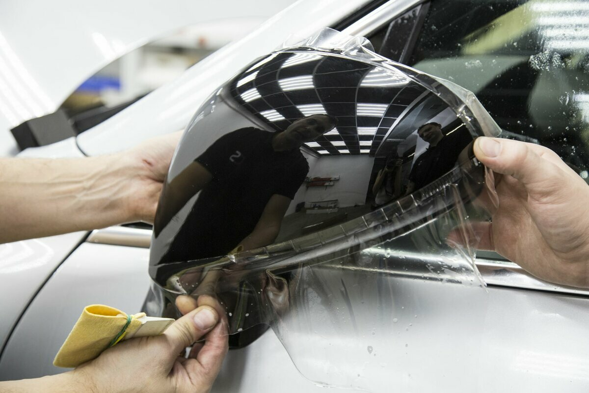 защитная пленка на автомобиль от сколов купить