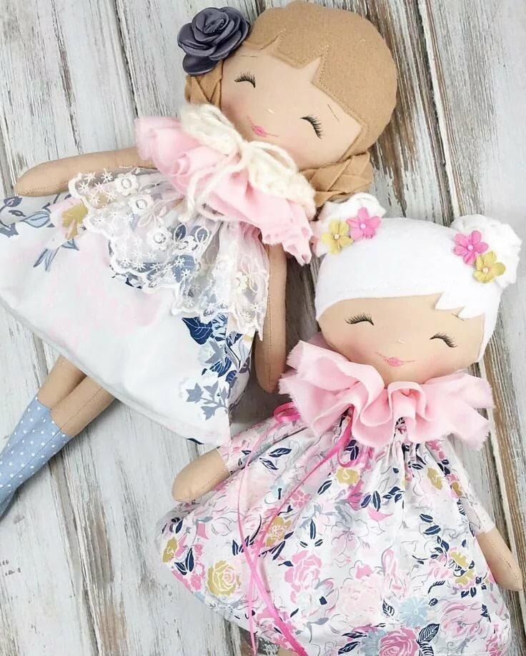 Картинка самодельной куклы